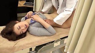Asahi Mizuno harassed by doc during medical checkup