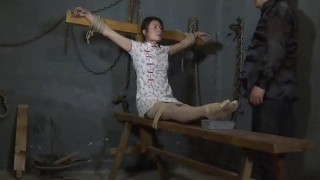 Chinese Interrogation with electric&ticklish soles torture