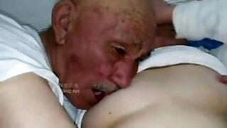 Old man fuck grandma