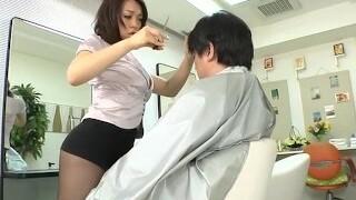 Avs-museum100438 Softcore Mini Skirt Barber Reiko Nakamori Sc1 Uncensored