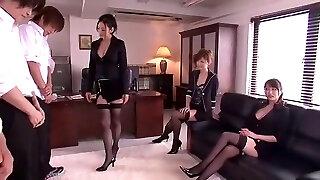 Crazy Japanese doll Leila Aisaki, Akari Hoshino, Risa Murakami in Horny Lingerie, Fetish JAV video