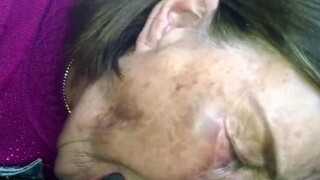 Old Korean granny giving head Two.