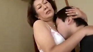 Affection of Mother and Stepson