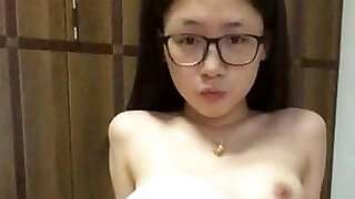 Cute Chinese young doll's lovley masturbation part-2