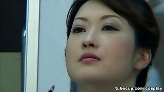 Cosplay Pornography: Asians Nurses Cosplay Japanese MILF Nurse Pounded Doctors Office part 1