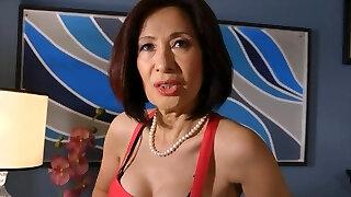 Horny Asian, Grannies xxx scene