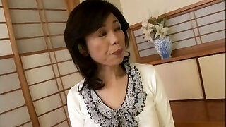 Breasty Japanese grandmother screwed inexperienced