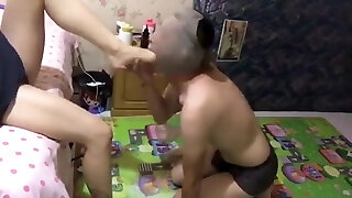Chinese Femdom Caboose Licking 2