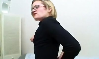 Angry Mom Undresses And Fingers Her Asshole
