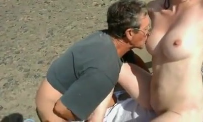 Nude Beach - Shy Wife Plays with Strangers