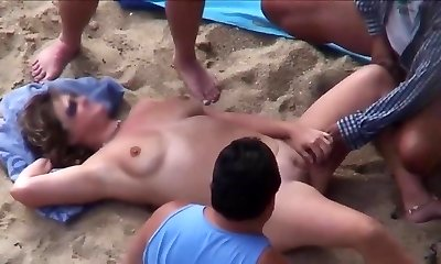 Mature Beach Play.avi