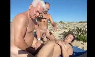Wifey hot sex at the beach