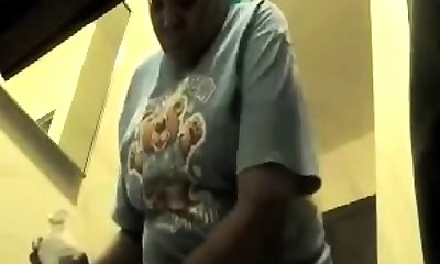 Amateur Bbw fucked on hidden camera