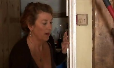 Banging Housemaid When Mom Is Away