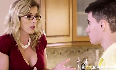 Cory Chase In Post Soiree Quickie For Mom