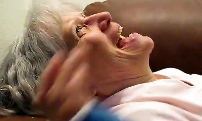 Grandmother Sucks Him Dry
