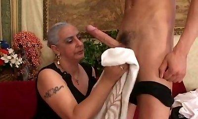 Granny Loves Big Penis