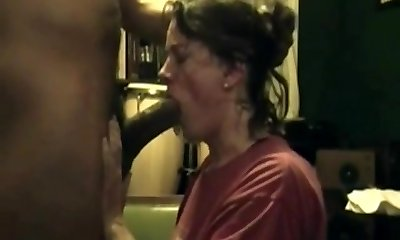 housewife lady bbc deep suck off