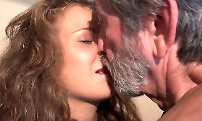 18 curly cutie nubile and 76 elderly granppa nasty 69