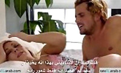تنام في سرير ابنها فتراه ادخل زبه بداخلها - مترجم - sexalarab-com