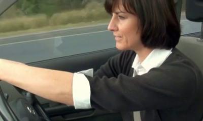 horny mom stopped car to jerk