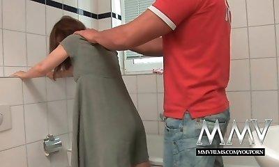 MMV Films Sumptuous German housewife enjoys a big cock