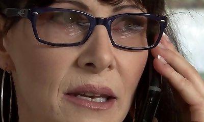Hottest pornstar Alexandra Silk in nasty brazilian, facial porno scene