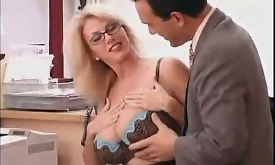Phat Titted Mommy with her Boss...F70