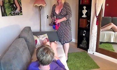 mother a pantyboy spank