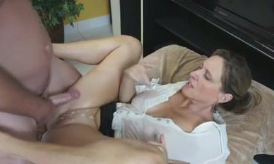 Busty Mom Demonstrates Him Her Big Tits And Tight Pussy