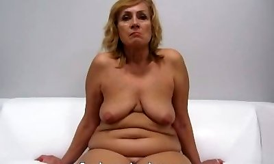 Czech Step Mother Casting - Mature Zuzana