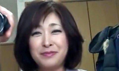 Japanese Chubby Mature Internal Ejaculation Sayo Akagi 51years