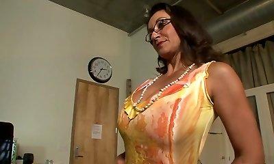 Best superstars Persia Monir and Bonnie Skye in hottest brunette, masturbation xxx scene