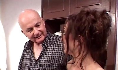 Stud fucks random whore with his wifey looking over them