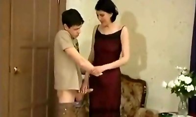 young dude   and  mature darling sex