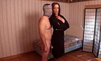 Mom punishes son for getting off