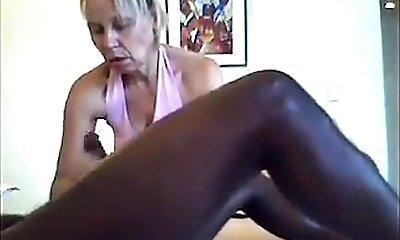 Covert Cam Massage - Handjob & Blowjob