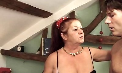 anal invasion group ravage with french mature and milf