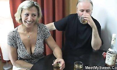 Deviant parents fuck his girlfriend
