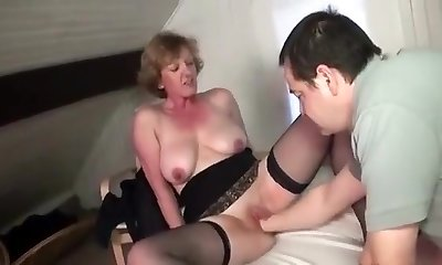 Best Homemade record with Mature, Stockings episodes