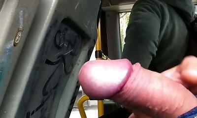 showcase in the bus (granny :))