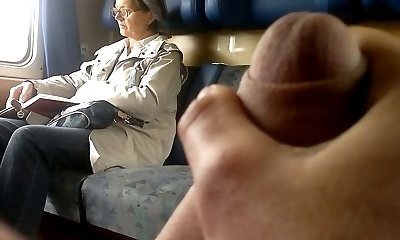 Instruct Dick flash to Mature - with Cum
