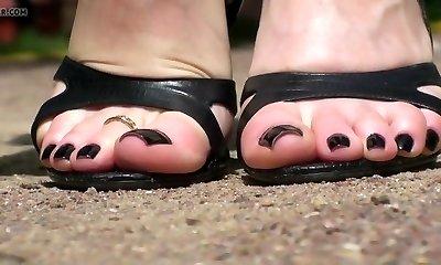 Tanya s feet...