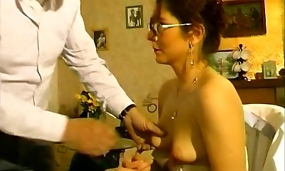 Super-fucking-hot mommy fucked by her old neighbor - Telsev