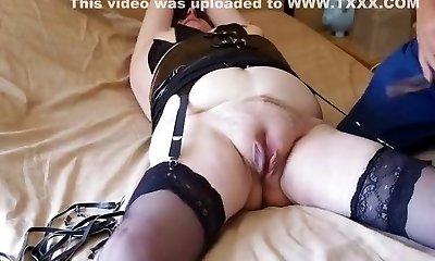 Exotic inexperienced Stockings, Fetish sex movie