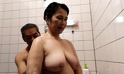 Hairy Puss Japanese Granny Michiko Okawa
