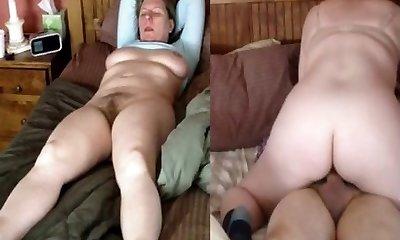Wife rails and orgasm