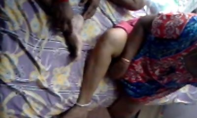South Indian Mature TAMIL Couples Lovemaking Tape-II