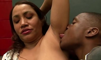 Fabulous pornstar in incredible interracial, internal cumshot xxx scene