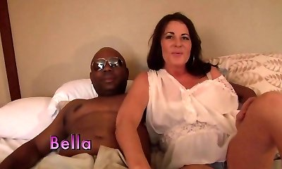 Greatest pornstar in horny mature, interracial hardcore clip